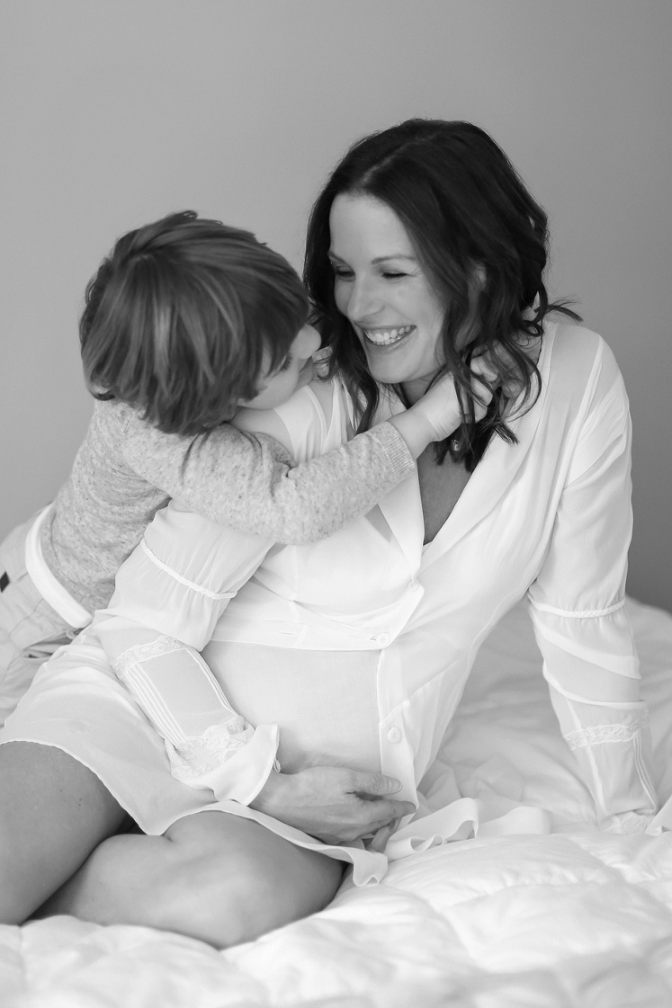 Nothing Sweeter- CT Mother and Son Maternity Session by Anne Miller annemillerphotographer.com